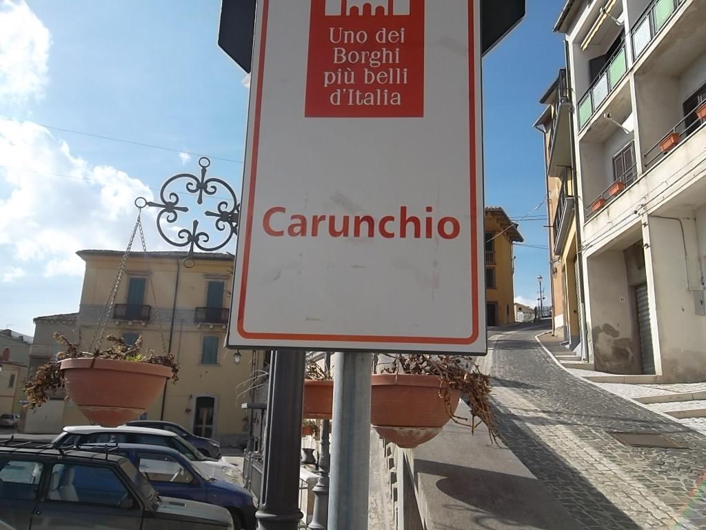 Rif 1118 Carunchio (CH) – Casa con giardino e garage – € 50.000