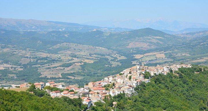 Panorama di Montemitro - Agosto 2019