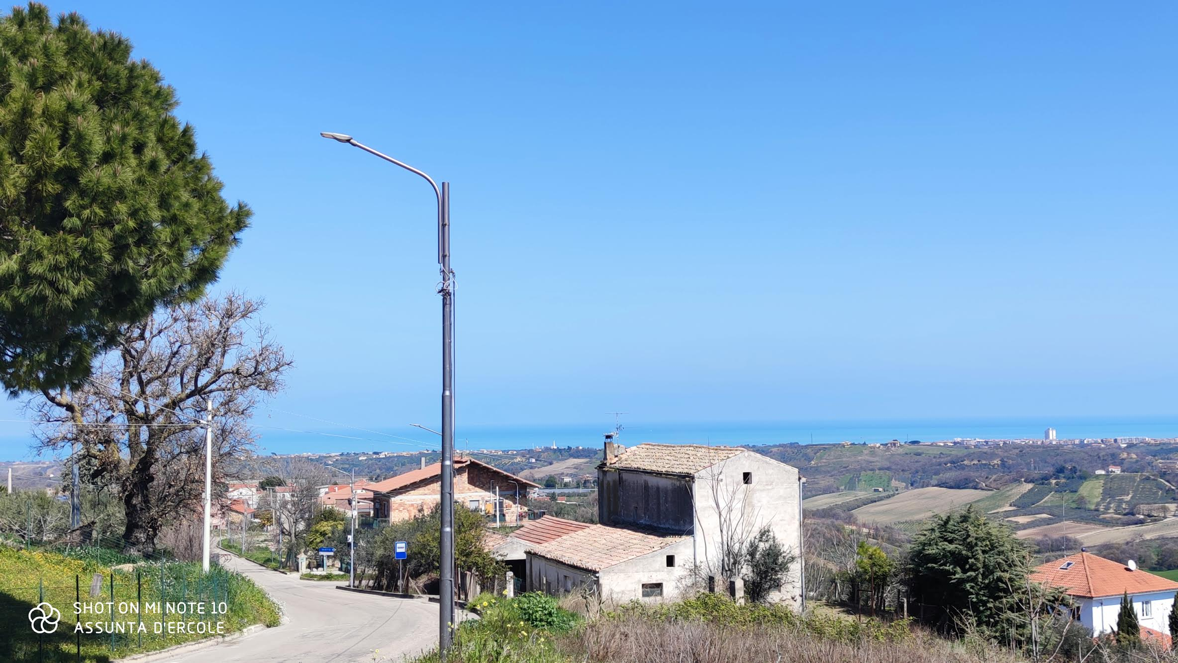 rif 1241 Monteodorisio (CH) – Casolare con giardino vista mare – € 65000
