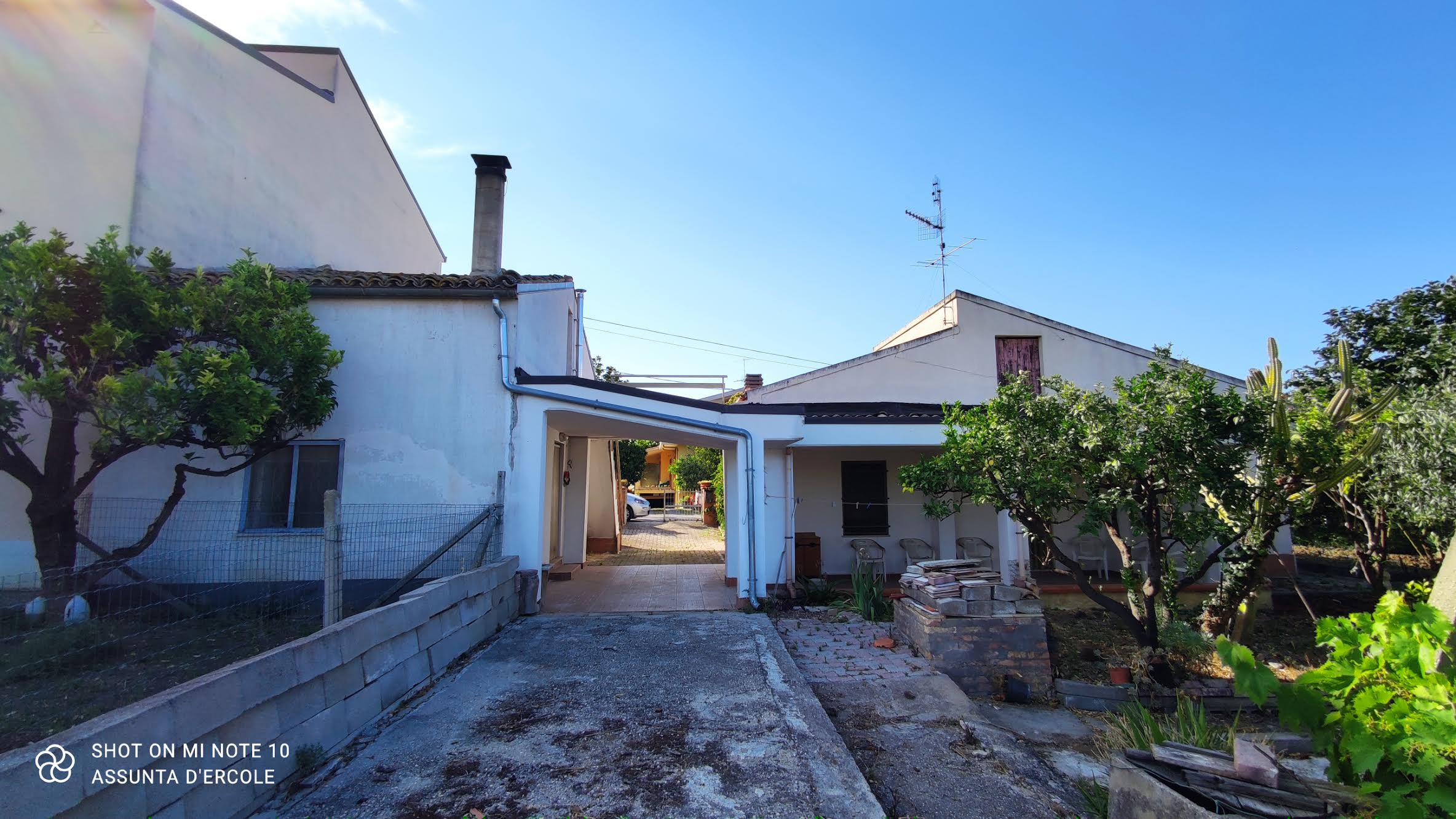 Rif 1282 Casalbordino (CH) – Cottage e terreno – €70000