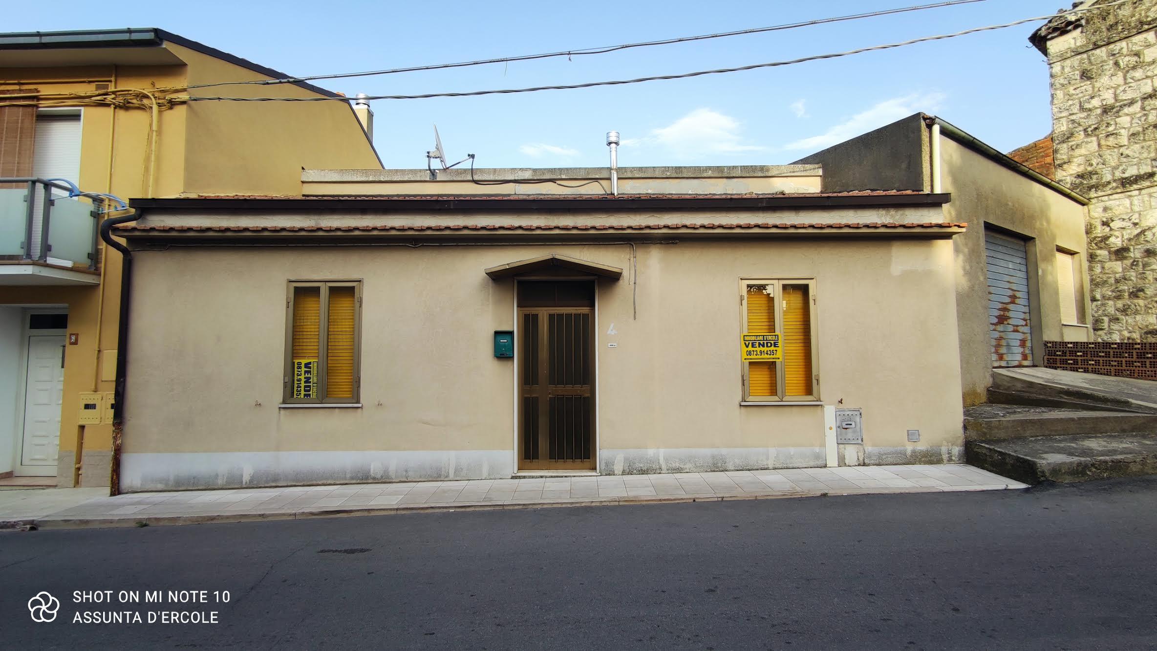 Rif 1287 Fresagrandinaria (CH) – Abitazione in centro con spazio esterno e vista mare – €75000